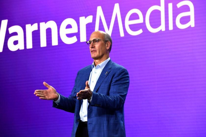 BURBANK, CALIFORNIA - OCTOBER 29: John Stankey, President & Chief Operating Officer of AT&T and Chief Executive Officer of WarnerMedia, speaks onstage at HBO Max WarnerMedia Investor Day Presentation at Warner Bros. Studios on October 29, 2019 in Burbank, California. (Photo by Presley Ann/Getty Images for WarnerMedia)