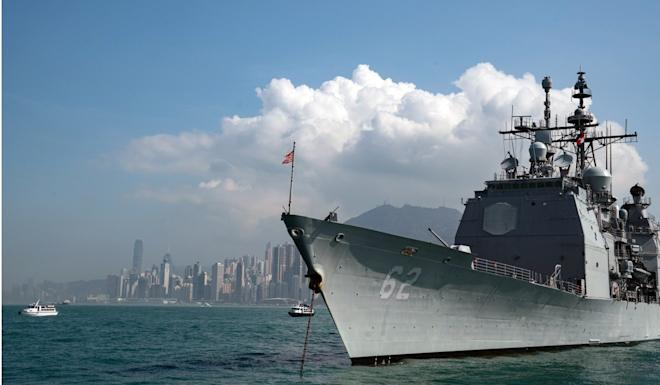 Beijing has banned US warships from visiting Hong Kong. Photo: Bloomberg
