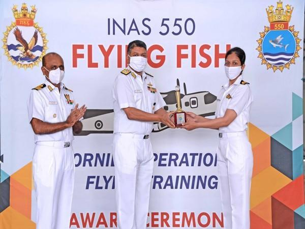 A visual from the passing out ceremony held at INS Garuda, Kochi on Thursday.