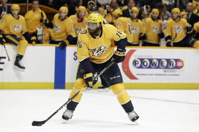The Predators have been struggling lately, but they could still win it all. (Mark Humphrey/AP)