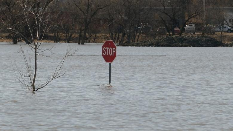 Assiniboine River to crest in Brandon on Monday, city says