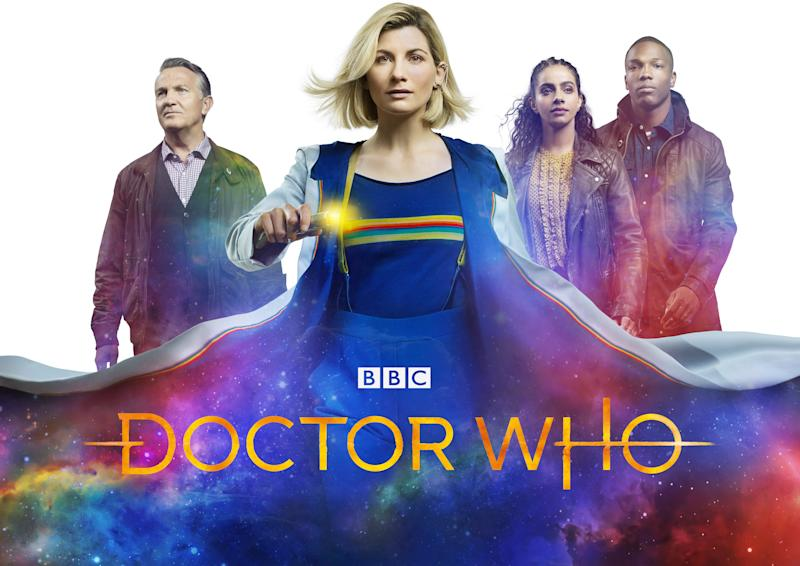 Jodie Whittaker, Bradley Wash, Mandip Gill and Tosin Cole star in the 12th series of 'Doctor Who' (BBC Studios)