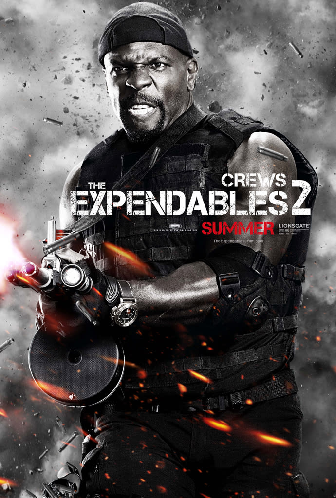 """Terry Crews in Lionsgate's """"The Expendables 2"""" - 2012"""