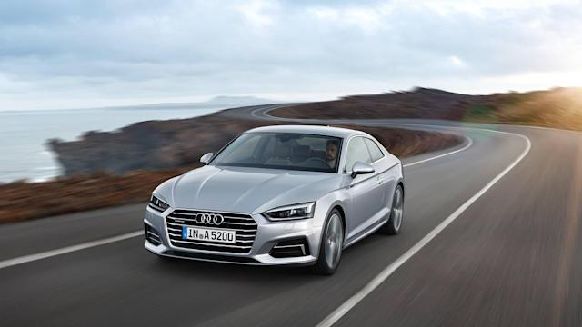 "<p><a href=""https://www.motor1.com/audi/"" rel=""nofollow noopener"" target=""_blank"" data-ylk=""slk:Audi"" class=""link rapid-noclick-resp"">Audi</a> once offered a manual transmission on an assortment of vehicles at various performance levels, but over the years, to meet customer preferences and fuel efficiency standards, manual transmissions have slowly disappeared from the German automaker's lineup. Of the few models that offer a manual gearbox is the <a href=""https://www.motor1.com/audi/a5/"" rel=""nofollow noopener"" target=""_blank"" data-ylk=""slk:Audi A5"" class=""link rapid-noclick-resp"">Audi A5</a> Coupe.</p>"