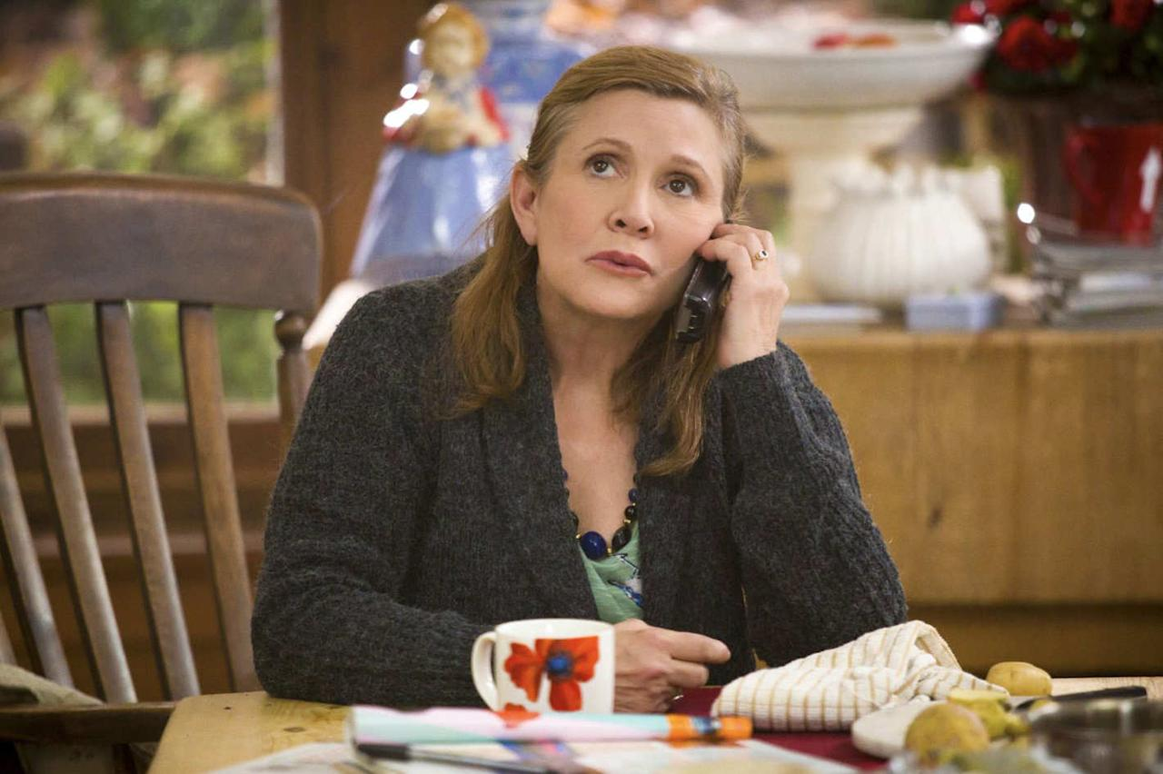 <p>How lovely that Carrie Fisher, who completed work on the third season of <i>Catastrophe</i> shortly before her death, should get an Emmy nomination for Outstanding Guest Actress in a Comedy Series for her role as Rob Delaney's mom. She had only a few scenes, but they were small gems, glowing with Fisher's urgent life force. <i>— Ken Tucker</i><br /><br />(Photo: Amazon) </p>