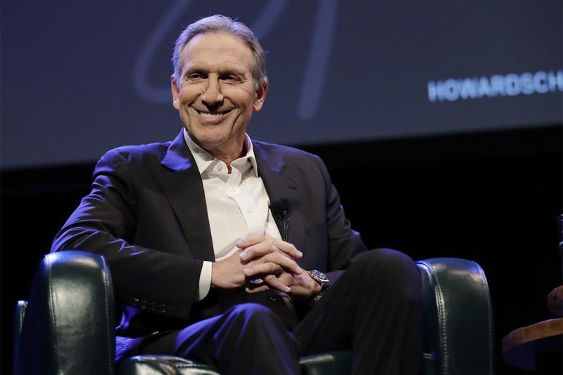 Back surgery sidelines Howard Schultz's exploratory campaign