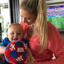 """<p>Nicholas <a href=""""https://www.instagram.com/p/BkAwZEzB3L9/"""" rel=""""nofollow noopener"""" target=""""_blank"""" data-ylk=""""slk:rooted on his mom's home country of Russia"""" class=""""link rapid-noclick-resp"""">rooted on his mom's home country of Russia</a> in the 2018 World Cup. </p>"""