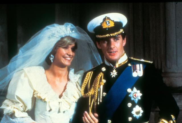 <p>It was 1982 and Diana fandom was at its height. English actress Caroline Bliss played the newlywed princess in a second TV movie about the royal couple's fairy-tale July 1981 wedding.<br><br>(Photo: Alamy) </p>