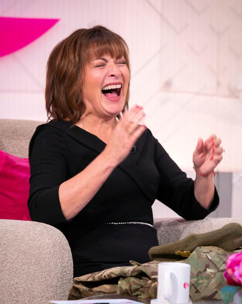 The actress Lorraine Kelly (Photo: S Meddle/ITV/Shutterstock)