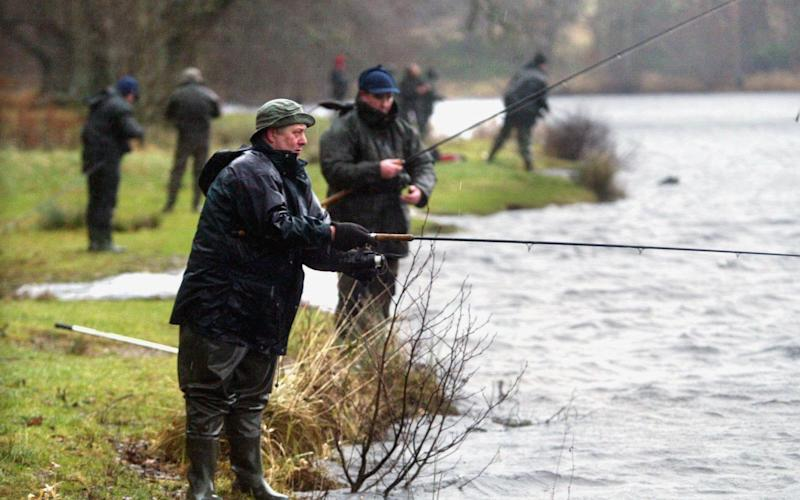 Anglers are being warned to wash their rods - Rex Features