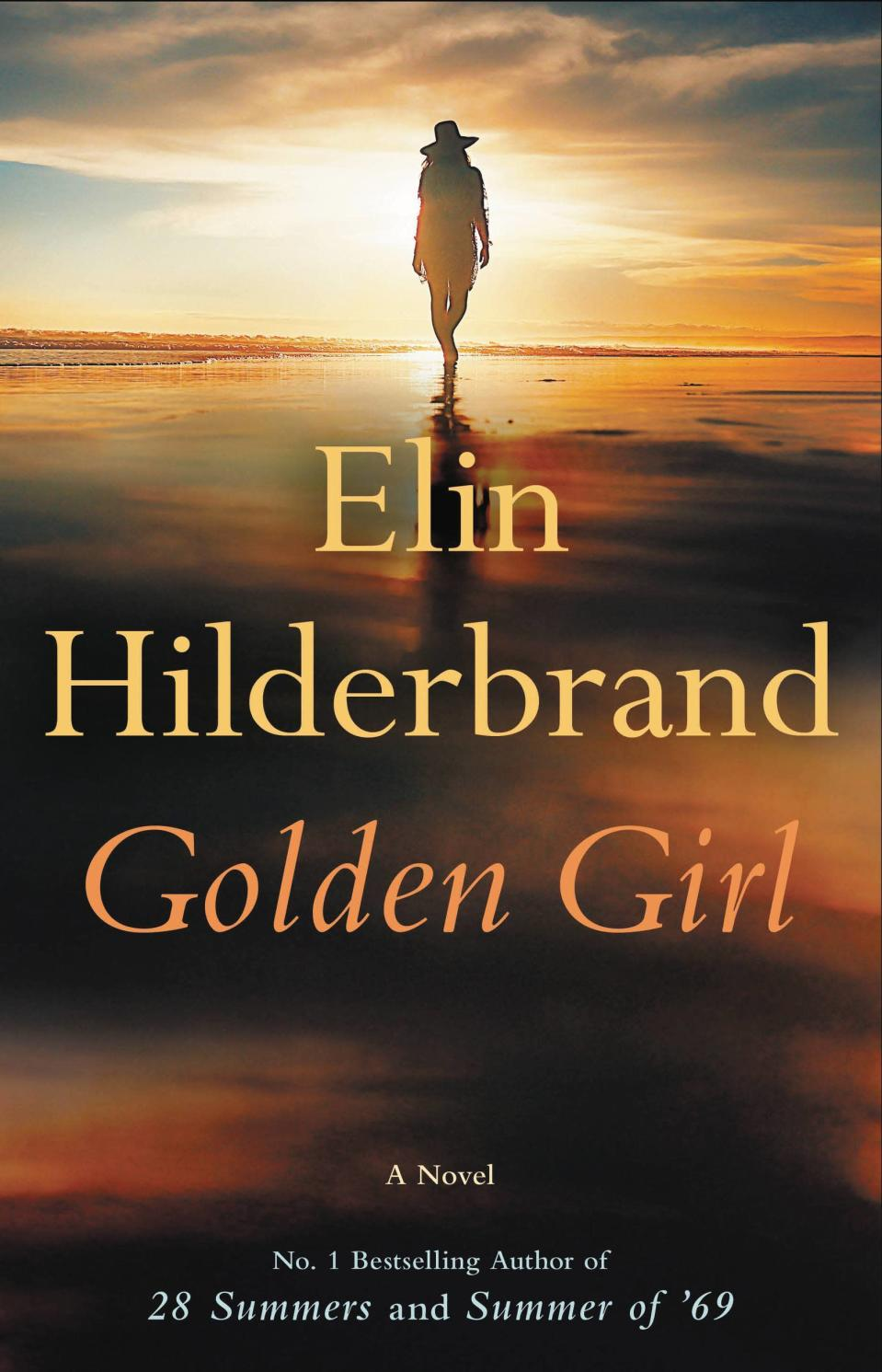 """This cover image released by Little, Brown & Company shows """"Golden Girl"""" the latest novel by Elin Hilderbrand. (Little, Brown & Company via AP)"""