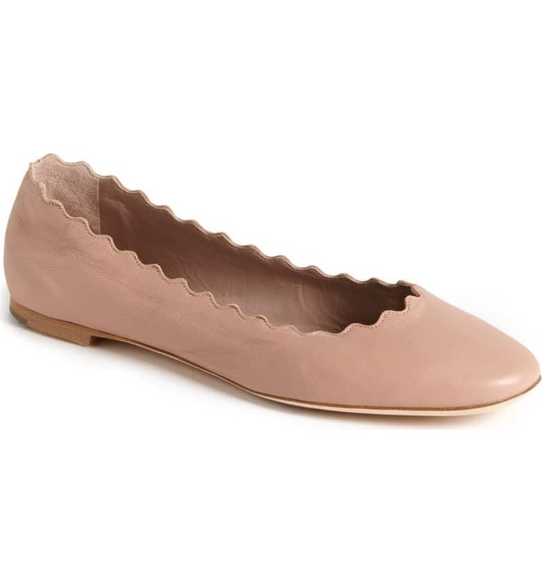 "<p>These chic <a href=""https://www.popsugar.com/buy/Chlo%C3%A9-Lauren-Scalloped-Ballet-Flats-401862?p_name=Chlo%C3%A9%20Lauren%20Scalloped%20Ballet%20Flats&retailer=shop.nordstrom.com&pid=401862&price=495&evar1=fab%3Auk&evar9=45625855&evar98=https%3A%2F%2Fwww.popsugar.com%2Ffashion%2Fphoto-gallery%2F45625855%2Fimage%2F45625859%2FChlo%C3%A9-Lauren-Scalloped-Ballet-Flats&list1=shopping%2Cfall%20fashion%2Cshoes%2Cfall%2Cwinter%2Cwinter%20fashion&prop13=api&pdata=1"" rel=""nofollow"" data-shoppable-link=""1"" target=""_blank"" class=""ga-track"" data-ga-category=""Related"" data-ga-label=""https://shop.nordstrom.com/s/chloe-lauren-scalloped-ballet-flat-women/4473620?origin=keywordsearch-personalizedsort&amp;breadcrumb=Home%2FAll%20Results&amp;color=taupe"" data-ga-action=""In-Line Links"">Chloé Lauren Scalloped Ballet Flats</a> ($495) are at the top of our wish list.</p>"