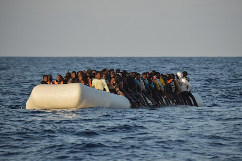 Refugee arrivals by sea in Spain triple