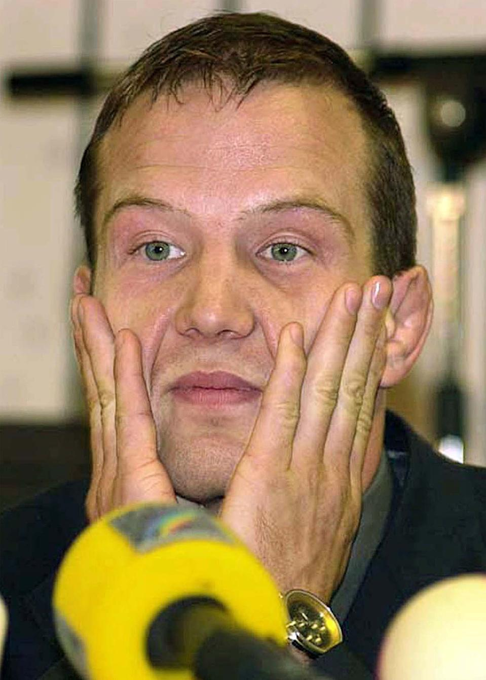 German wrestler Alexander Leipold didn't even medal in 1988, 1992 or 1996, so when he won the gold medal at the 2000 Sydney Games in the freestyle tournament, it was bound to raise red flags. Drug tests showed that Leipold's blood contained metabolites associated with anabolic steroids, and he was subsequently stripped of his gold medal. (AP PHOTO/FOTO KUNZ/RALF MORAY)