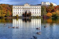 "<p>Have you ever watched <em>The Sound of Music </em>and wished you could visit the Von Trapp's extravagant home? Well, you can! A short walk away from the heart of Salzburg, Schloss Leopoldskron invites guest to explore its Rococo interiors and architecture while learning about Austrian history. Currently, Schloss houses 12 lavishly decorated suites and an additional 55 more modern rooms in its former administration building on the property.</p><p><a class=""link rapid-noclick-resp"" href=""https://www.schloss-leopoldskron.com/en/"" rel=""nofollow noopener"" target=""_blank"" data-ylk=""slk:Book Now"">Book Now</a></p>"