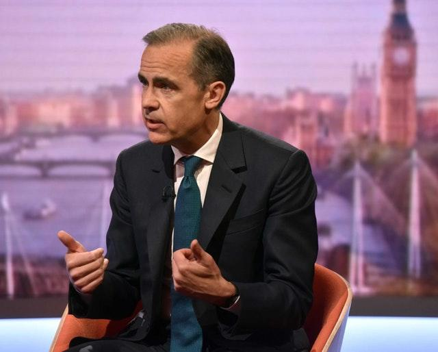 Outgoing Bank of England chief Mark Carney (Jeff Overs/BBC)