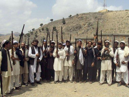 Afghan men vow to defend their village against Taliban