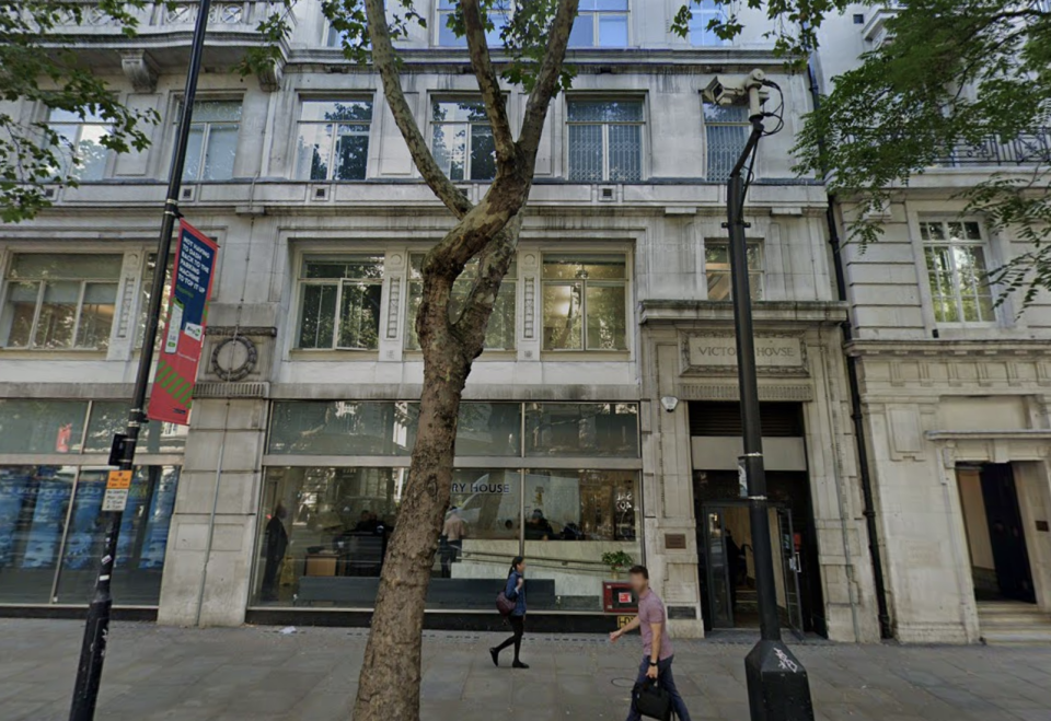 The case is being heard by the London Central Employment Tribunal. (Google Maps)