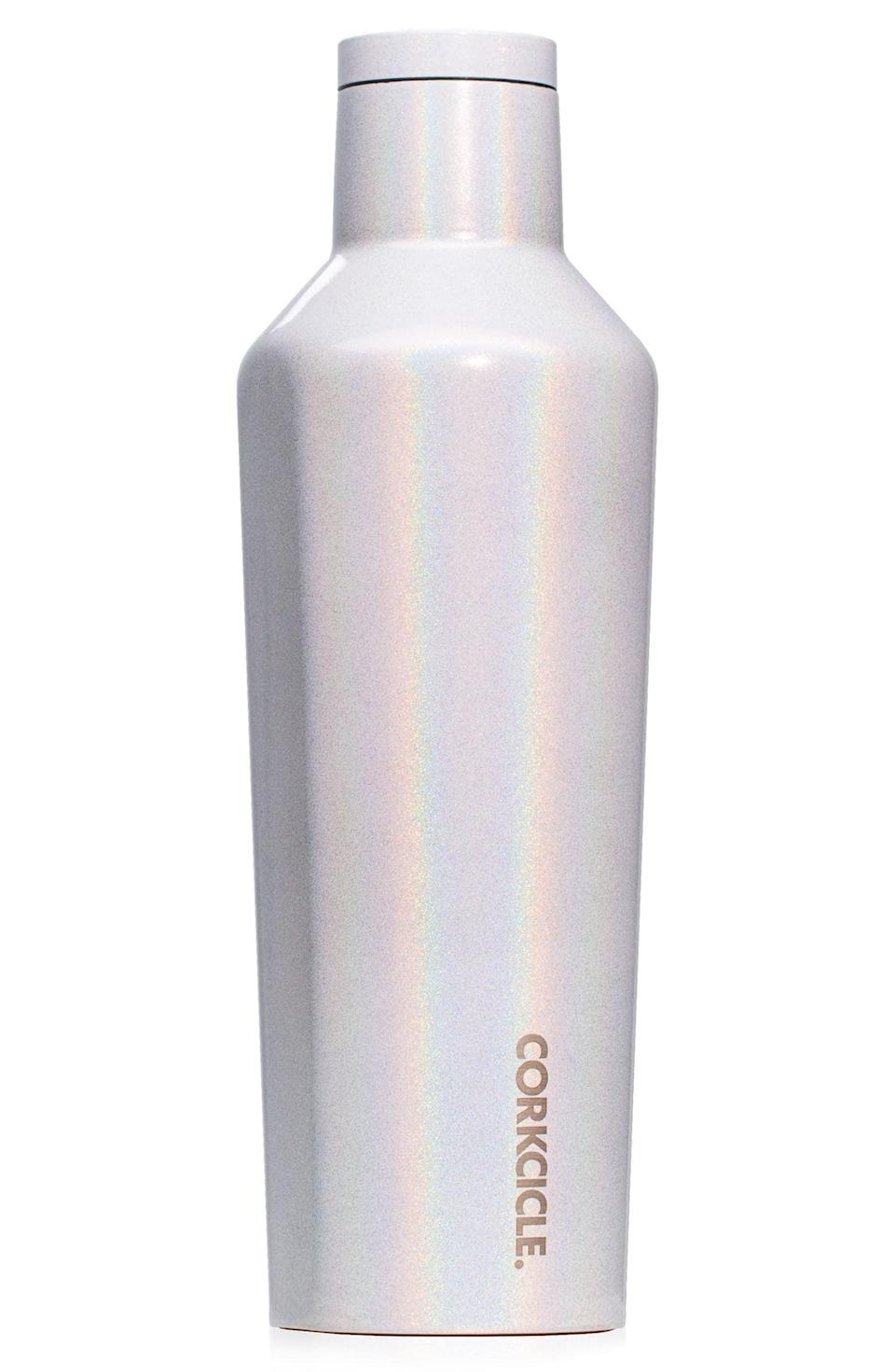 <p>You can never have enough water, and this <span>Corkcicle Insulated Stainless Steel Canteen</span> ($35) will ensure you stay hydrated.</p>
