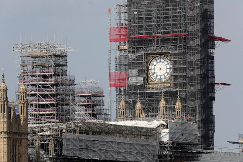 Big Ben is currently undergoing restoration work: PA Archive/PA Images