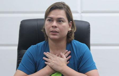 Davao City Mayor Sara Duterte, eldest daughter of Philippine President Rodrigo Duterte, is pictured at her office in Davao city in southern Philippines, August 4, 2017.    REUTERS/Lean Daval Jr