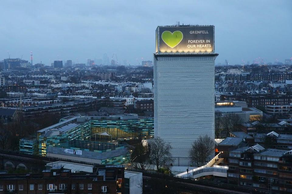 Ministers are expected to announce this month that Grenfell Tower will be demolished amid safety concerns (Getty Images)