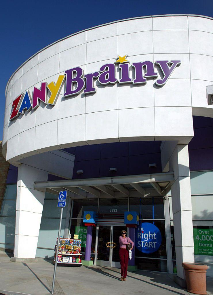 <p>Zainy Brainy was an educational toy company founded in 1991 and owned by FAO Schwarz. The chain sold puzzles, books, games, and electronics, along with holding workshops for kids and teachers. Zany Brainy filed for bankruptcy and shuttered 187 locations in 2001. Since the closing of the toy store, the founder and CEO of the company, David Schlessinger and Tom Vellios, founded another retail chain, Five Below.</p>