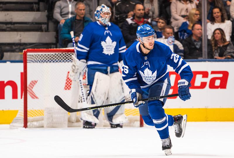 Marner returns after missing 11 games with ankle injury