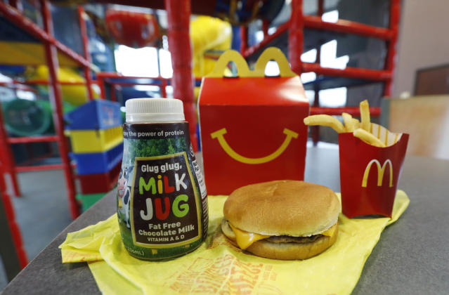 McDonald's Happy Meal. (Photo: AP/Rogelio V. Solis)