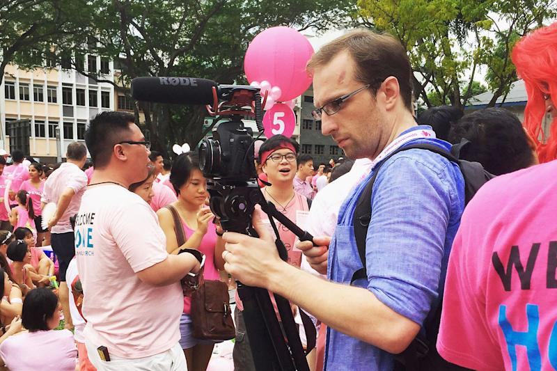 "Calum Stuart's 25-minute documentary, ""An Online Citizen"", will be premiering at the Freedom Film Fest 2019 in Kuala Lumpur on Saturday (28 September). (Photo courtesy of Calum Stuart)"