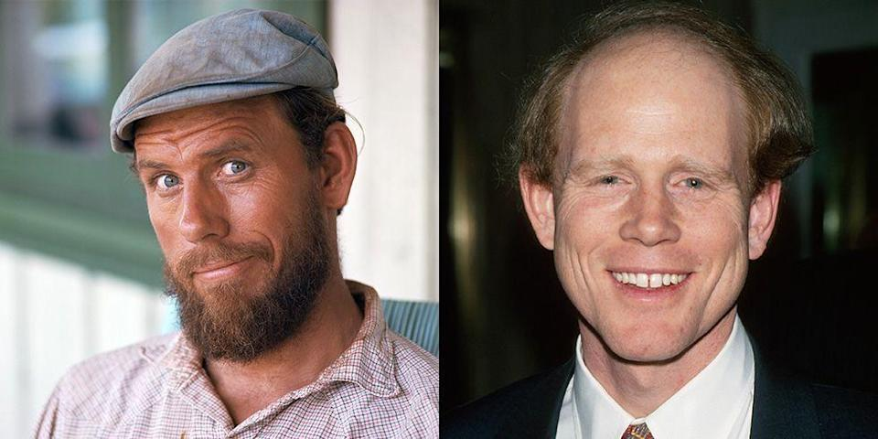 <p>Although Ron Howard first made a name for himself by acting Happy Days, directing has since become his calling. But did you know his father was in the business, too? Both of the actors had successful careers by the age of 22. </p>