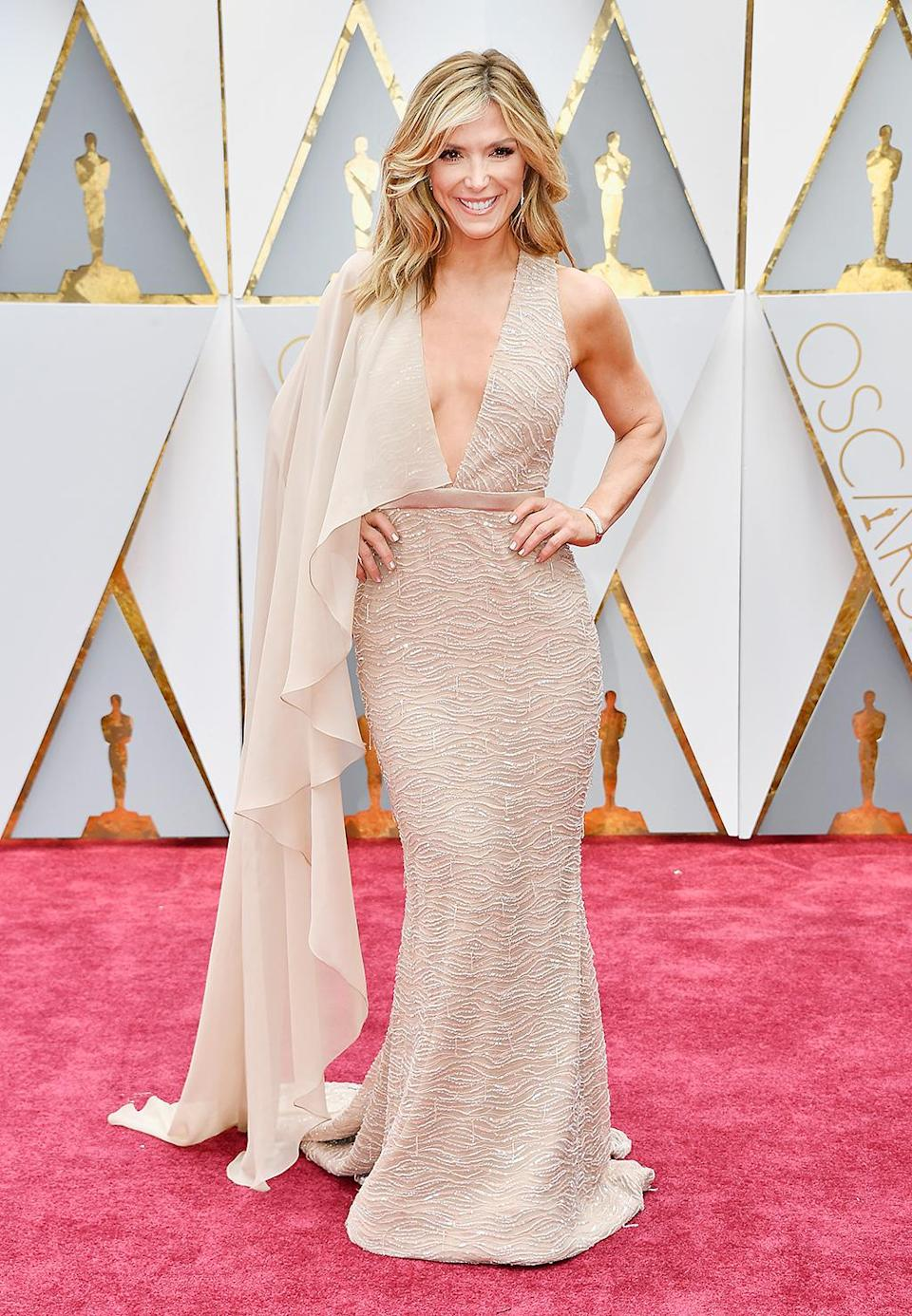 <p>TV personality Debbie Matenopoulos attends the 89th Annual Academy Awards at Hollywood & Highland Center on February 26, 2017 in Hollywood, California. (Photo by Frazer Harrison/Getty Images) </p>
