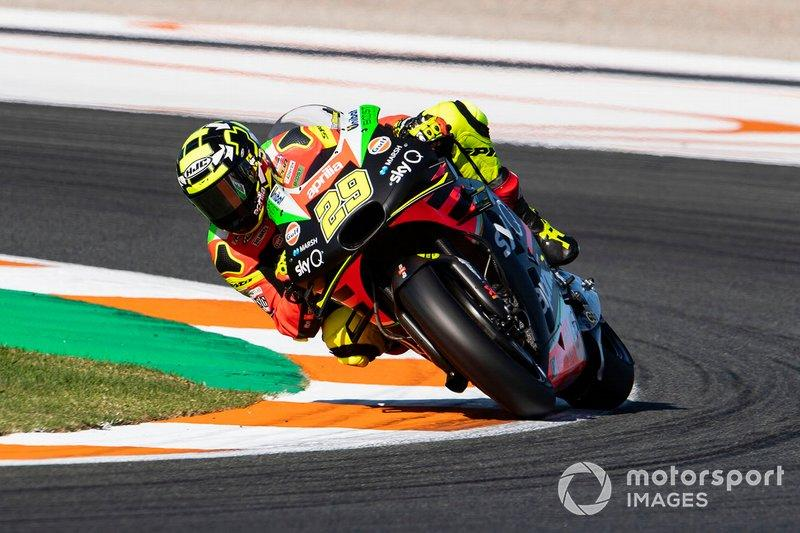 "Andrea Iannone, Aprilia Racing Team Gresini<span class=""copyright"">Gold and Goose / Motorsport Images</span>"