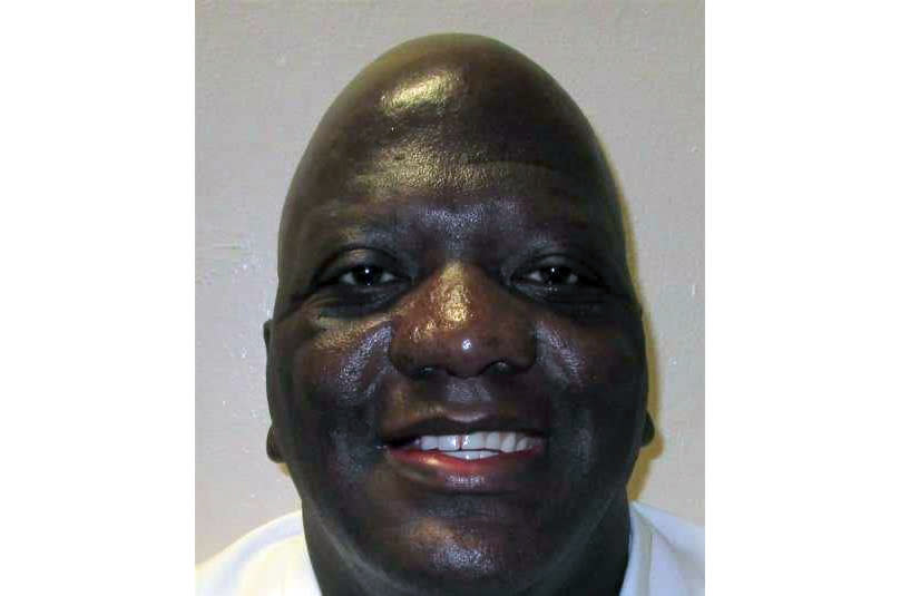 This undated photo provided by the Alabama Department of Corrections shows Willie B. Smith III. The Alabama Supreme Court on Tuesday, Dec. 1, 2020 ordered that 51-year-old Willie B. Smith III be put to death on Feb. 11 for the shotgun slaying of Sharma Ruth Johnson. (Alabama Department of Corrections via AP)