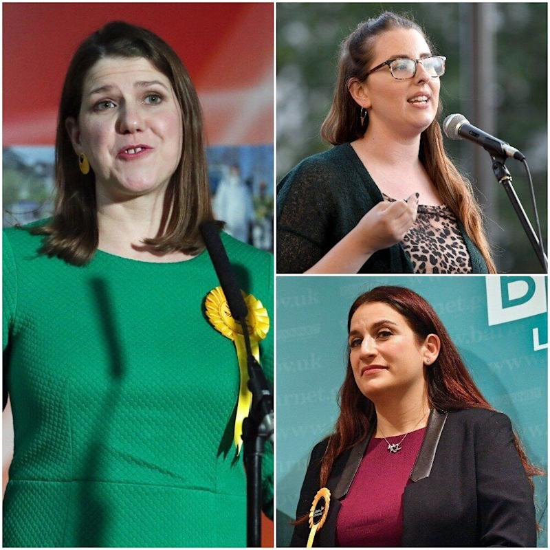 <strong>Liberal Democrats Jo Swinson and Luciana Berger failed to be elected, while Labour's Laura Pidcock also lost her seat&nbsp;</strong> (Photo: PA)