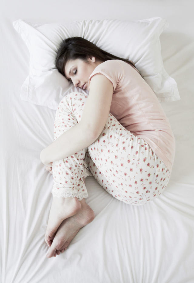The foetal positions is a popular way to sleep. (Getty Images)