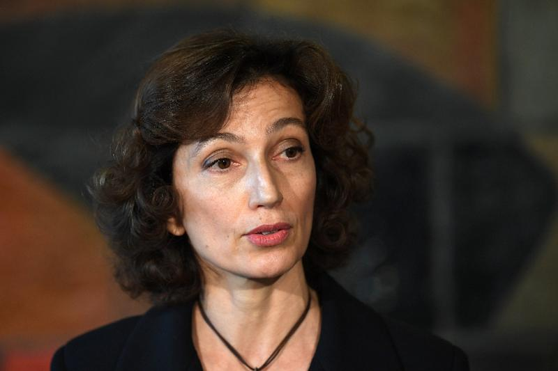 Former French culture minister Audrey Azoulay is UNESCO's second woman director general