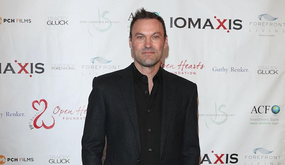 """<ul> <li><strong>Net Worth:</strong> $8 Million</li> </ul> <p><span>Although Brian Austin Green has more than 75 acting credits on his resume dating back to 1985, the one that shines the brightest is still """"Beverly Hills, 90210,"""" one of the defining TV shows of the 1990s. He appeared in 292 episodes between 1990-2000. </span></p> <p><small>Image Credits: Broadimage/Shutterstock</small></p>"""
