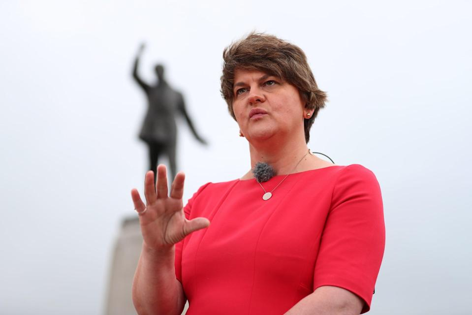 First Minister and DUP leader Arlene FosterPA