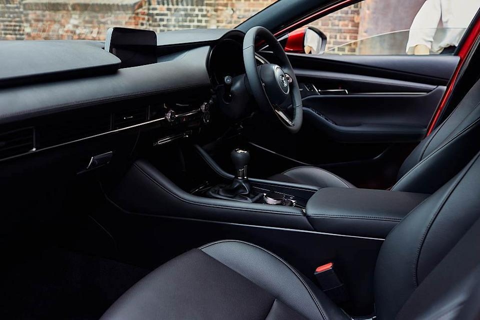 A look inside the Mazda3 New Era's human-centric interior. — Picture courtesy of Bermaz motor