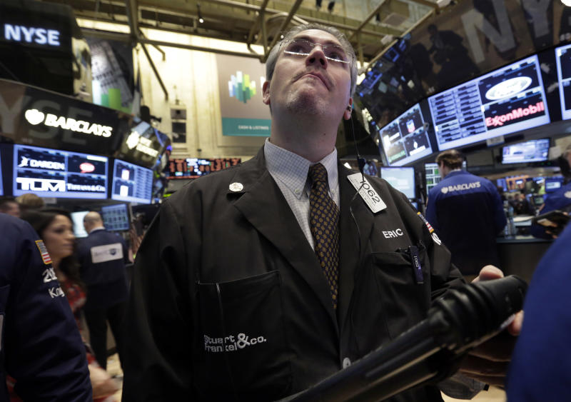 Dow closes at highest level of year, nears record