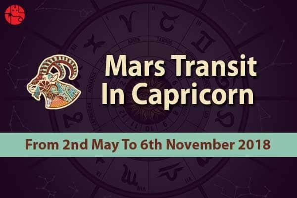 Know What Changes Will Mars Transit In Capricorn Bring In Your life