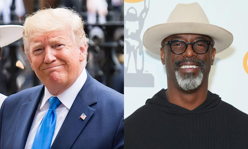 Isaiah Washington is a Trump supporter