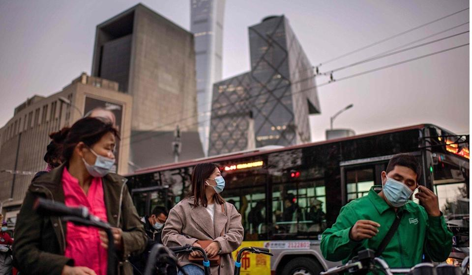 The researchers estimated that air pollution could contribute to 27 per cent of the Covid-19 deaths in China. Photo: AFP