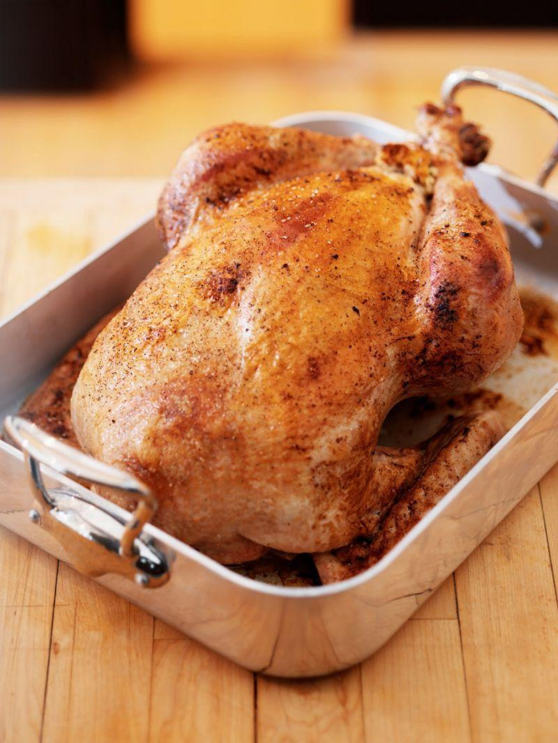 """<p>This flavorful brine from Thomas Keller's Bouchon restaurant. requires soaking for 24 hours so be sure to plan ahead.<b> <a href=""""https://www.yahoo.com/food/simple-roasted-turkey-from-thomas-kellers-bouchon-192729677.html"""" data-ylk=""""slk:Try Thomas Keller's Simple Roasted Turkey Recipe;outcm:mb_qualified_link;_E:mb_qualified_link;ct:story;"""" class=""""link rapid-noclick-resp yahoo-link"""">Try Thomas Keller's Simple Roasted Turkey Recipe</a></b>. (Photo: Stocksy)</p>"""