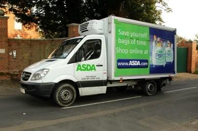 Asda delivery van