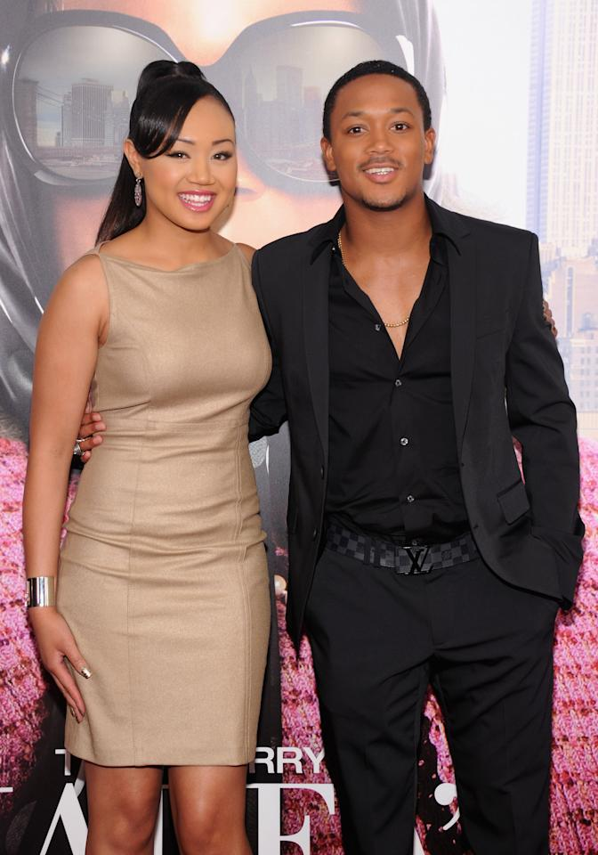 "NEW YORK, NY - JUNE 25:  Cymphonique Miller and Romeo Miller attend the ""Tyler Perry's Madea's Witness Protection"" New York Premiere at AMC Lincoln Square Theater on June 25, 2012 in New York City.  (Photo by Jamie McCarthy/Getty Images)"