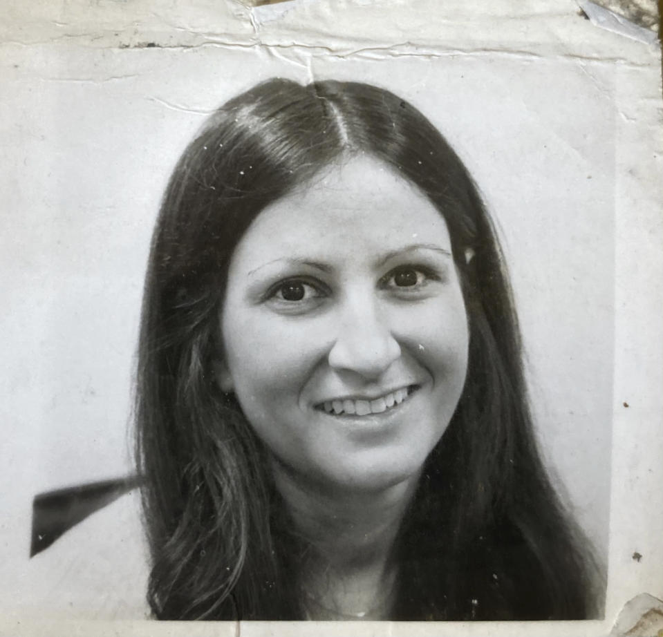 Associated Press journalist Sharon Cohen smiles in this picture taken sometime in her late 20s, early in her career at The AP. Cohen, a matchless reporter who told American stories with great skill and compassion over more than four decades at news cooperative, died Monday, April 5, 2021, at her Chicago home. She was 68. (Courtesy of Mike Robinson)