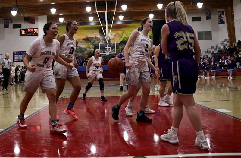 Anchorage Christian was 26-1 this season, with their lone loss coming in a tournament in Las Vegas. (Photo courtesy of Christy Rutter)