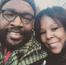 """<p>Questlove posted a selfie with his mom, Jacquelin Thompson, along with this sweet message: """"I think mom and I have taken a photo w each every Christmas. Our tradition: Movies & Chinese Take Out. Christmas w my best gal. Wouldn't have it any other way. I complain a lot about 2016. But I'm still grateful about some things in 2016."""" (Photo: <a rel=""""nofollow noopener"""" href=""""https://www.instagram.com/p/BOdJoE0hUZL/"""" target=""""_blank"""" data-ylk=""""slk:Instagram"""" class=""""link rapid-noclick-resp"""">Instagram</a>) </p>"""